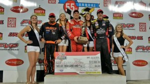 Night two Podium at Kn