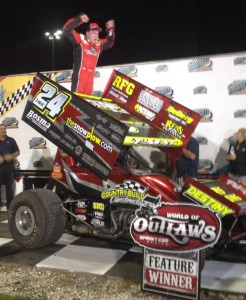 Terry McCarl claims night two at Knoxville