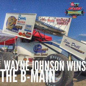 Wayne Johnson B Main winner