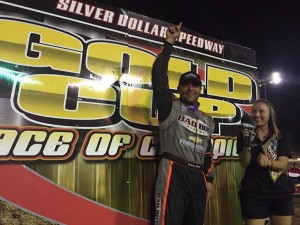 Schatz wins his second Gold Cup at Silver Dollar Speedway WoO Credit