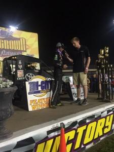 Tanner Thorson Gold Crown National winner
