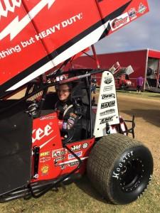 Kyle Hirst 2nd behind Jamie Veal Pic-Monte Motorsports