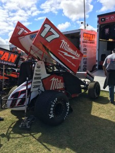 The defending Classic Champion Kyle Hirst @Sprintcar Central
