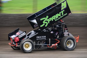 Travis Rilat on the way to win number 3 at the Tyson Perez Memorial